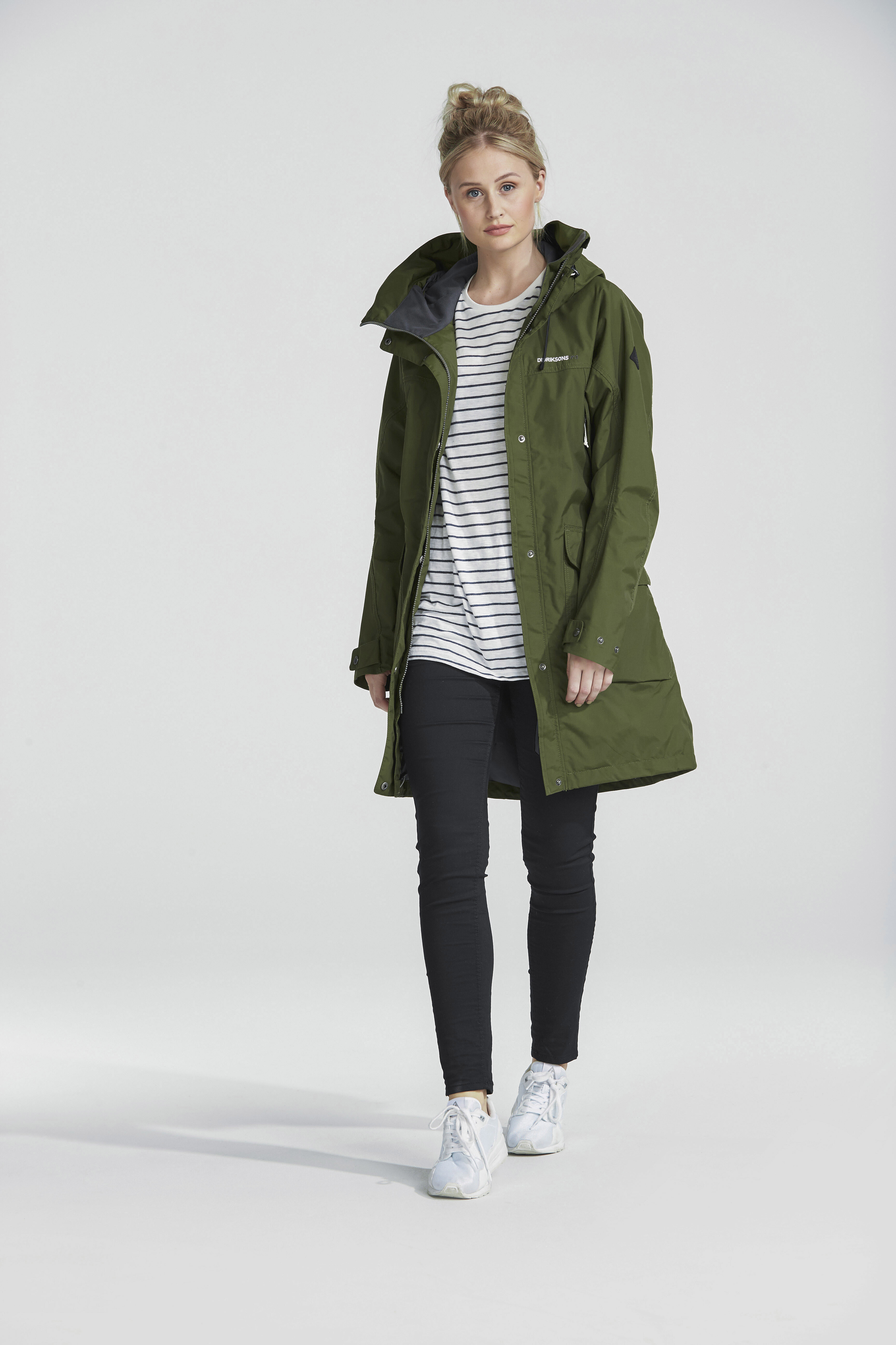 6270ba4be8d Didriksons 1913 Thelma Parka Women peat at Addnature.co.uk